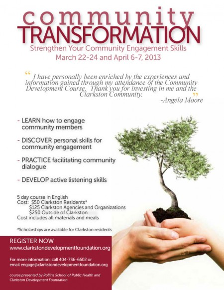 Community Transformation Course